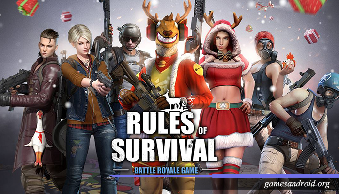 Games android Rules Of Survival,