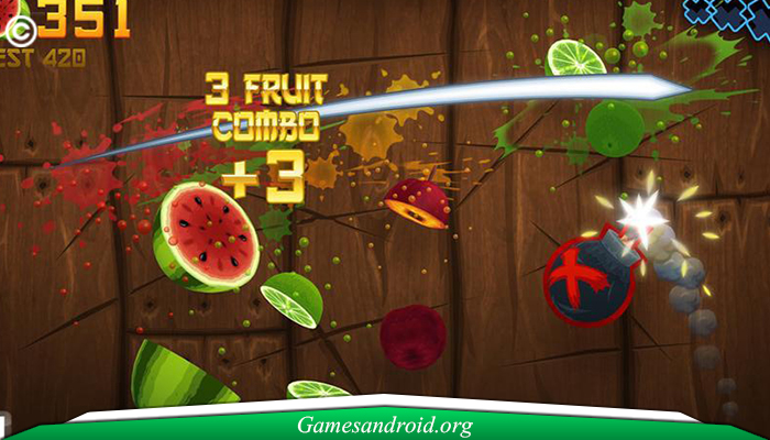 Games Android Fruit Ninja
