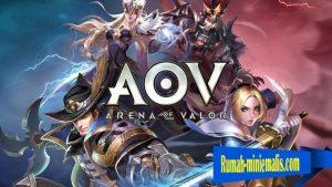 Data Update Game AOV Di Tahun 2019